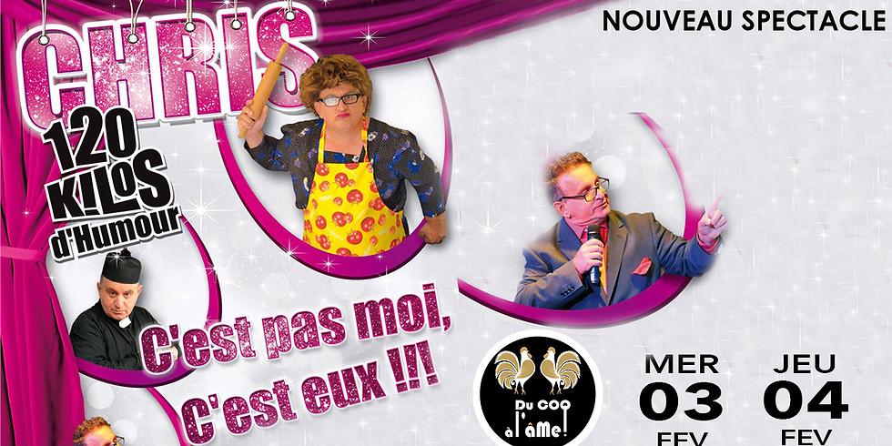 Café-Théâtre CHRIS 120kg d'humour - One Man Show