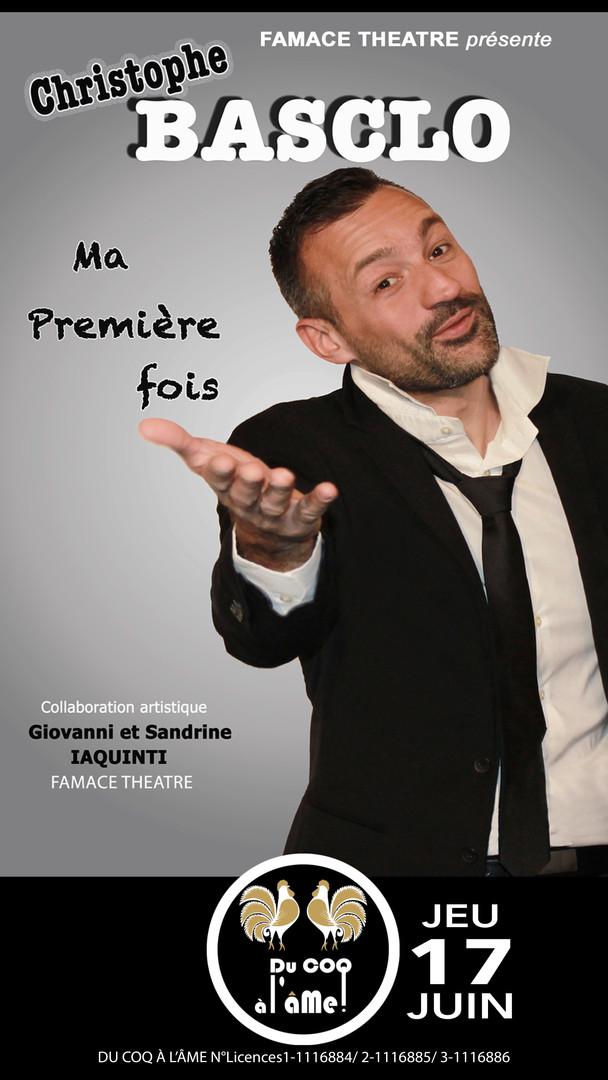 Christophe Basclo_Ma première fois_Café-