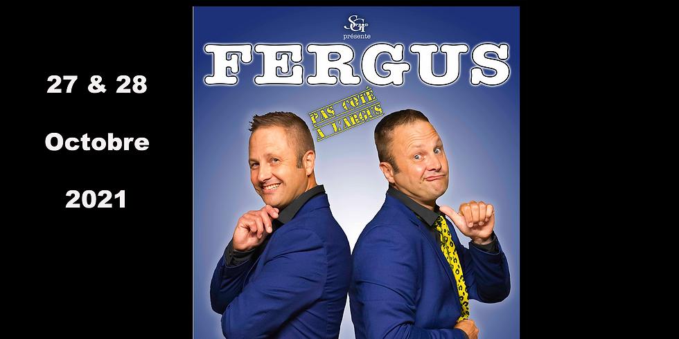 Café theatre / Fergus pas coté à l'argus - One Man Show