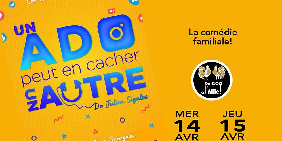 Café-Théâtre Un ado peut en cacher un autre - Comédie/Théâtre