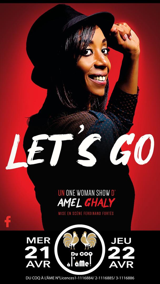Amel Ghaly_Let's go_Café-théâtre Du Coq