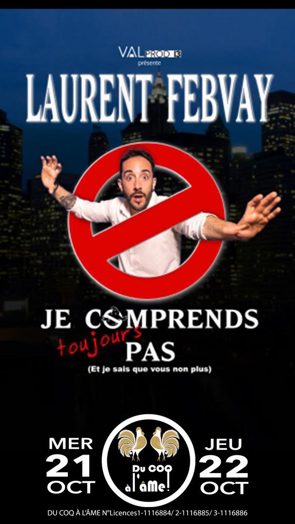 Laurent Febvay_Je comprends toujours pas