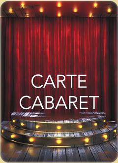 Carte & Menus Cabaret