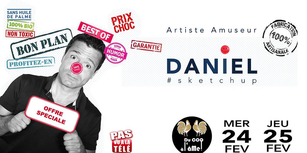 Café-Théâtre / Daniel humoriste certifié - One Man Show