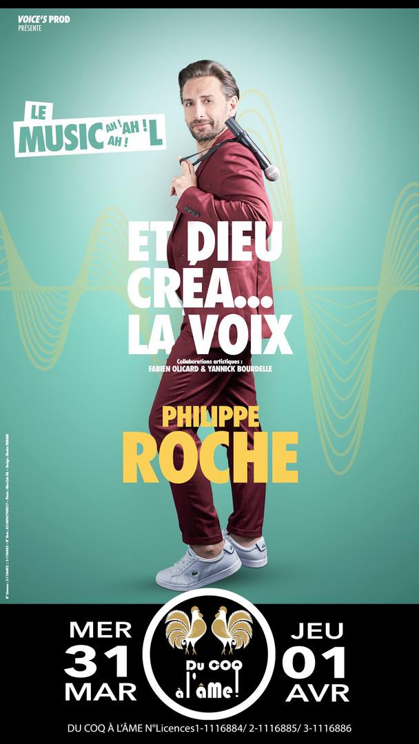 Philippe Roche_Et Dieu créa la voix_Café