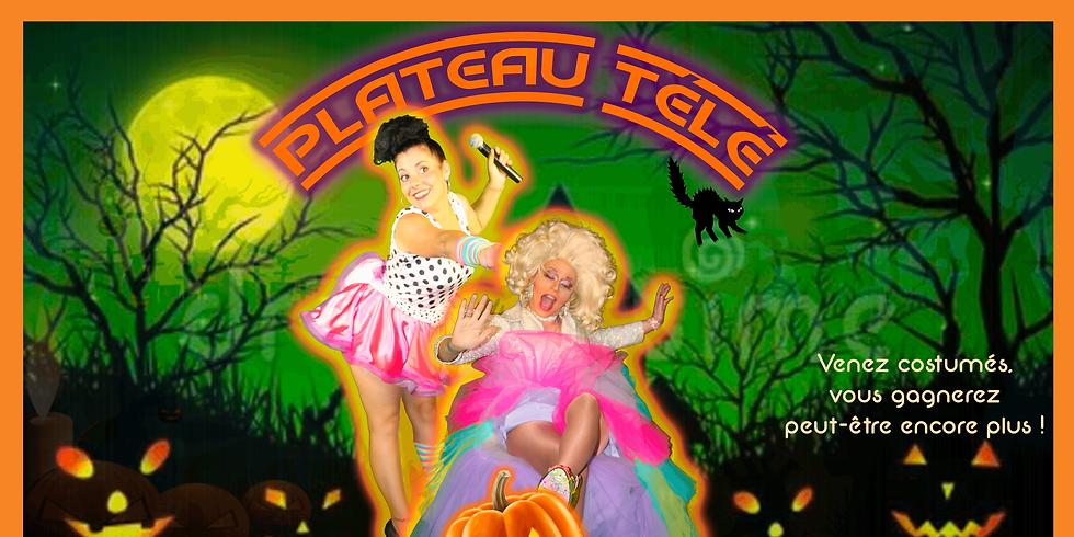 Dîner-Spectacle / Plateau Télé - Special Halloween