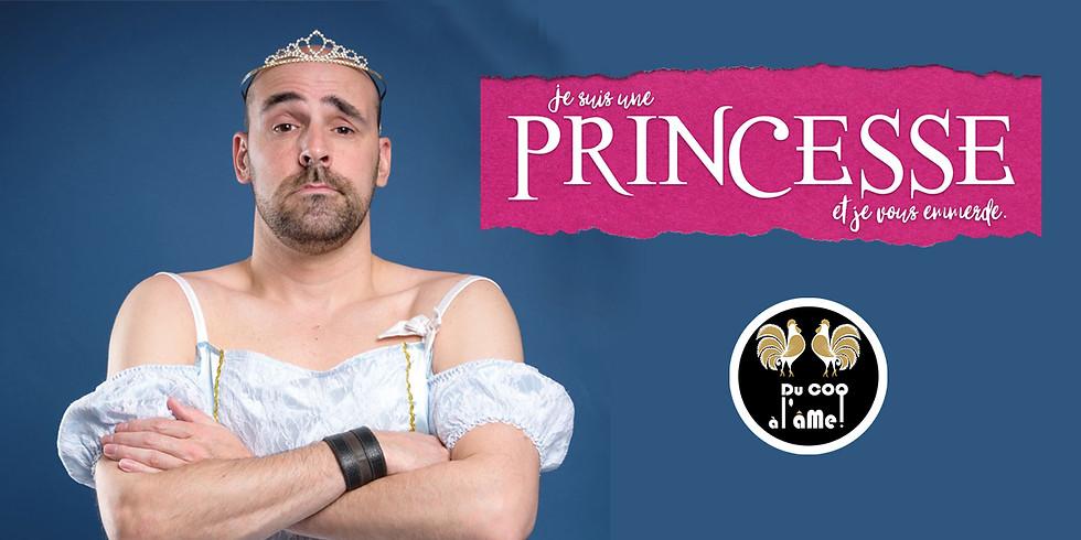 12h-15h30 - Déjeuner-Spectacle / KENNY - Je suis une princesse