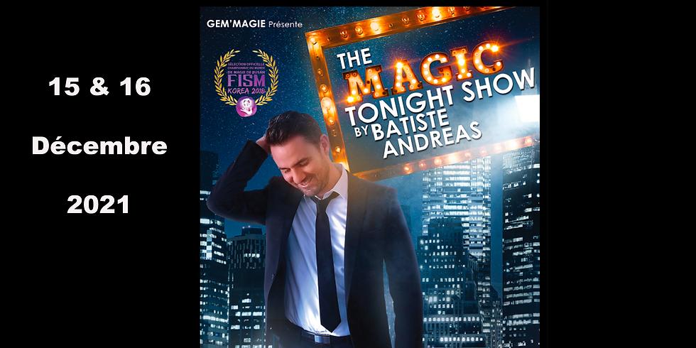 Café theatre / Batiste Andreas - The Magic tonight show (1)