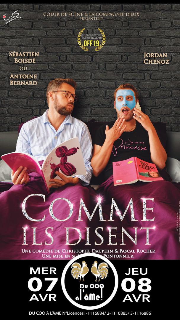 Comme ils disent_Café-théâtre Du Coq à l
