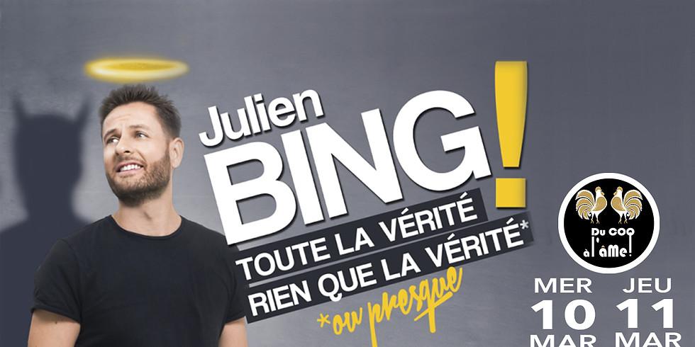 Café-Théâtre / JULIEN BING - La vérité, toute la vérité... One Man Show