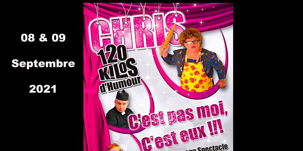 Chris 120 Kilos d'humour. (1)