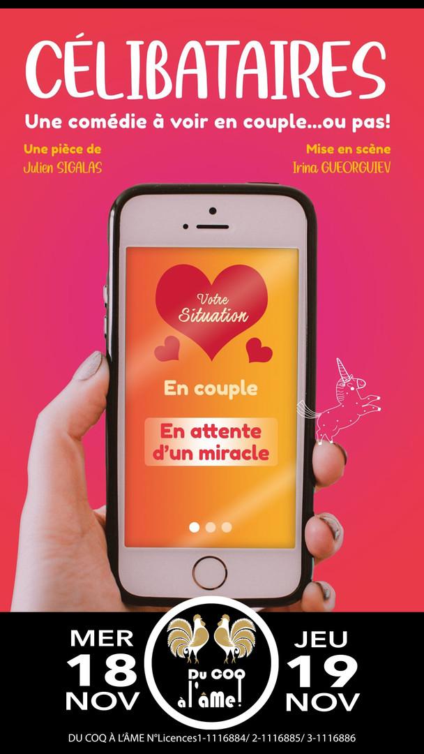 Célibataires_Le spectacle_Café-théâtre D