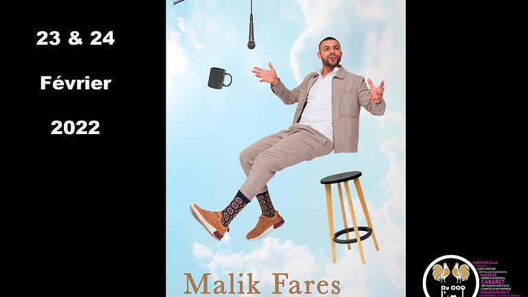 Café-Théâtre / Malik Fares - En confiance