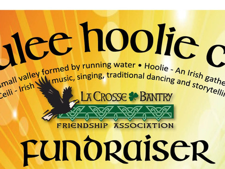 Join us for the 4th Annual Coulee Hoolie Ceili!