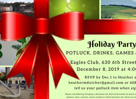 Holiday Party December 8
