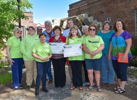 LBFA presents $3,100 to La Crosse and Bantry Hospice Programs