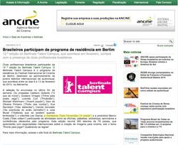 Berlinale Talents | Ancine