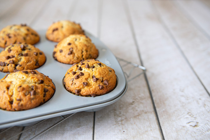 Food Photography (Muffins)