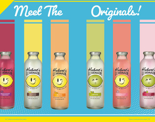 Hubert's Lemonade Product Catalog Opening Spread