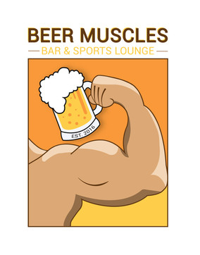 Beer Muscles Bar and Sports Lounge (Logo 1)