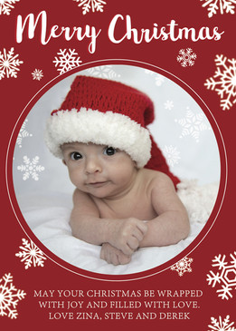Merry Christmas Mail Card