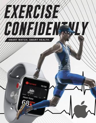 3 Part Apple Watch Magazine Ads