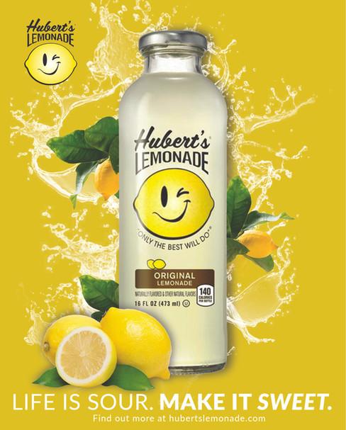 Hubert's Lemonade Advertisements and Product Catalog