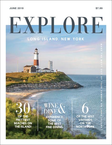 Explore Magazine Cover