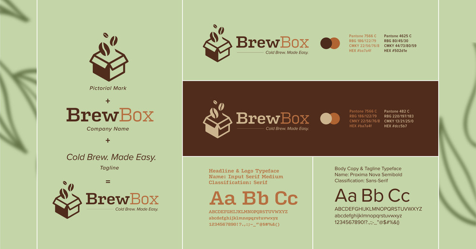 BrewBox Brand Identity
