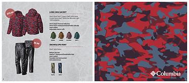 Columbia Product Catalog Spread