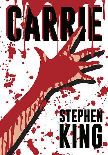 Stephen King's Carrie Book Cover