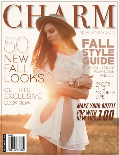 Charm Magazine Cover