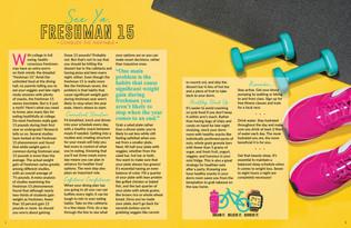 Lifestyle Magazine Spread