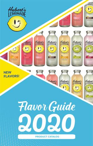 Hubert's Lemonade Product Catalog Cover
