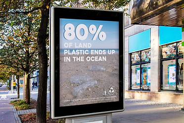Environmental Protection Agency Plastic Waste Ad Campaign