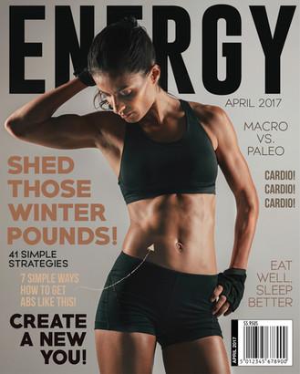 Energy Fitness Magazine Cover