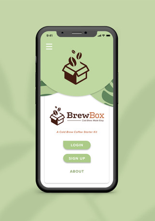 BrewBox Open Screen