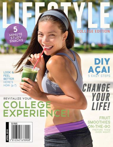 Lifestyle Magazine Cover