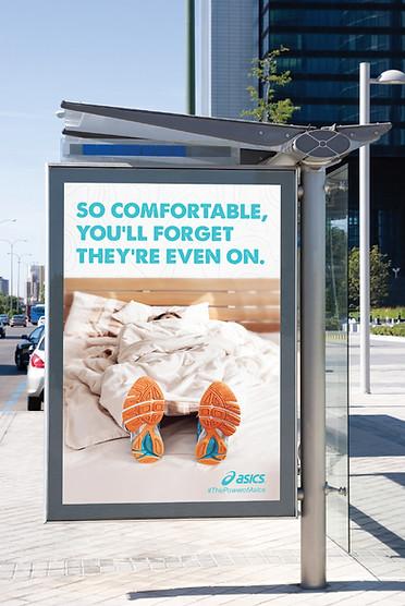 Asics Shoe Ad