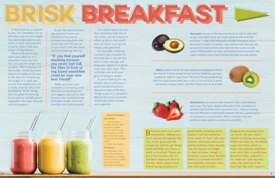 Lifestyle Magazine 2-Page Spread