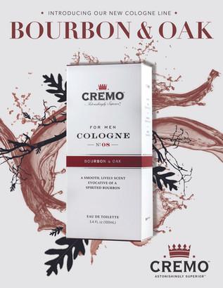 Cremo Cologne Ad