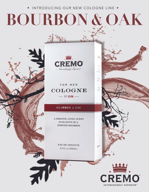Creamo Men's Cologne Magazine Advertisement
