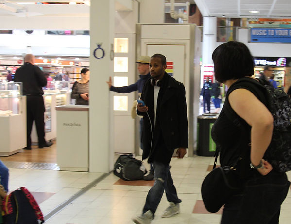 Julz west at gatwick airport 3