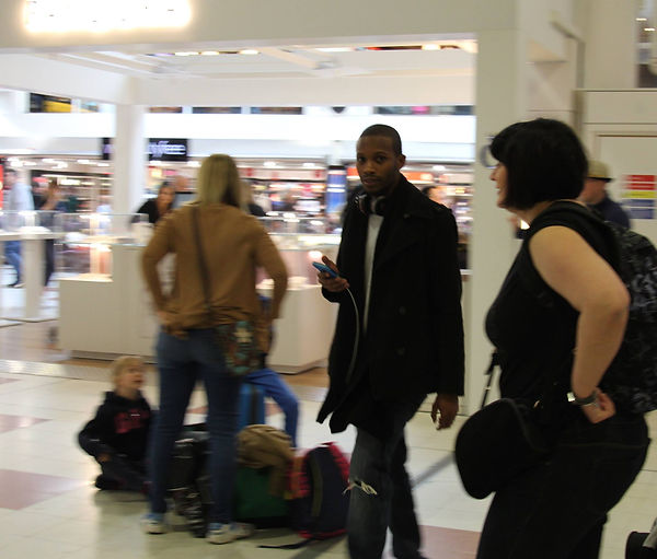 Julz west at gatwick airport 4