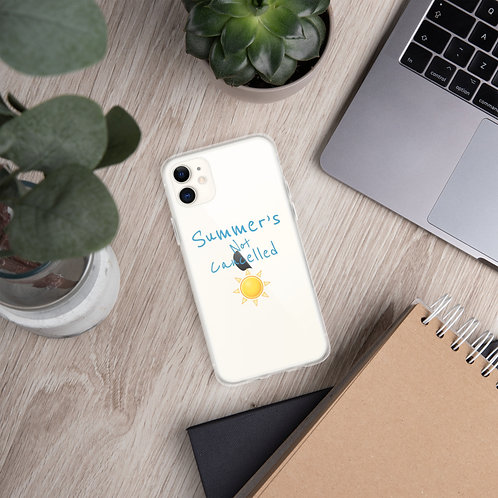 Summer's Not Cancelled (Clear) - iPhone Case