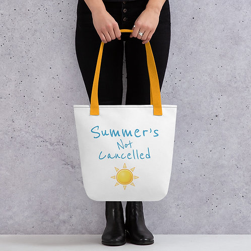 Summer's Not Cancelled - Tote bag
