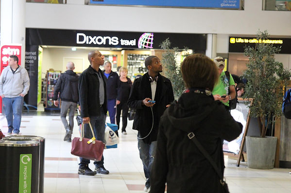 Julz west at gatwick airport 2