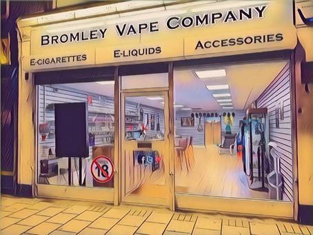 Bromley Vape Shop Update