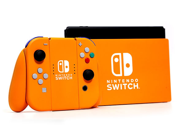 Nintendo Switch - Retro Spice Orange - OEM Finishing