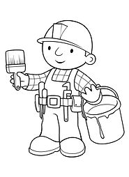 Construction-Coloring-Page PDF Link